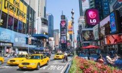 Tag en tur rundt i USA på engelsk